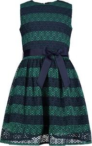 Sukienka dziewczęca Tommy Hilfiger z bawełny