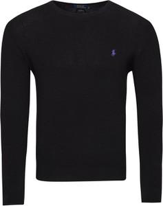 Czarny sweter Ralph Lauren z bawełny