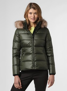 Zielona kurtka Calvin Klein krótka