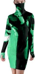 Sukienka Cikelly z golfem w stylu casual