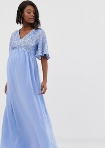 Niebieska sukienka Maya Maternity