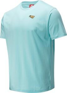 T-shirt New Balance z krótkim rękawem z bawełny