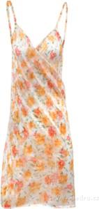 Sukienka Dedra z dekoltem w kształcie litery v na ramiączkach prosta