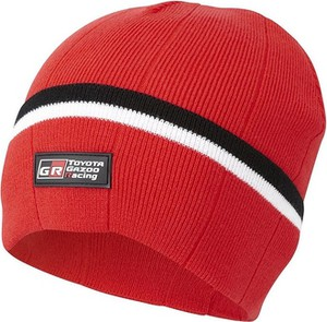 Czerwona czapka Toyota Gazoo Racing