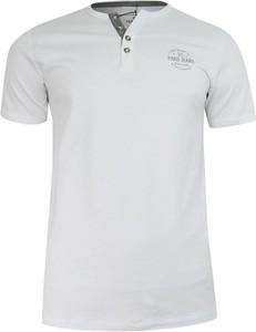 T-shirt Pako Jeans w stylu casual z nadrukiem z bawełny
