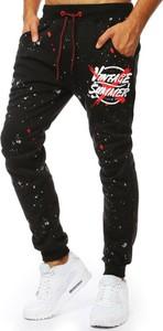Czarne spodnie Dstreet