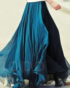 Niebieska spódnica Kendallme