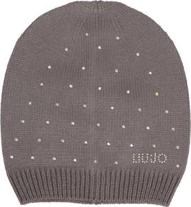 Brązowa czapka Liu-Jo