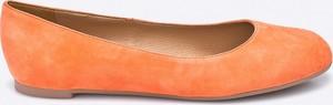 Pomarańczowe baleriny Gino Rossi