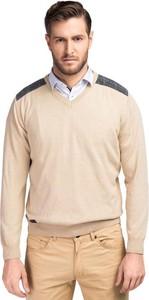 Sweter giacomo conti z dzianiny