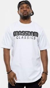 T-shirt Mass z krótkim rękawem z bawełny