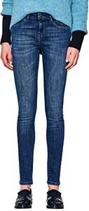 Niebieskie jeansy Esprit w młodzieżowym stylu