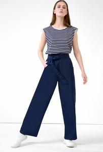 Niebieskie spodnie ORSAY z tkaniny