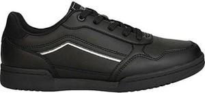 Czarne buty sportowe Sprandi ze skóry