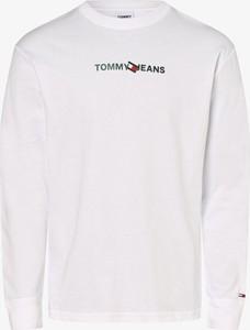 Koszulka z długim rękawem Tommy Jeans z dżerseju z długim rękawem