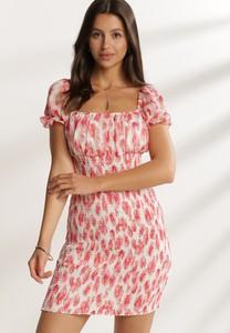 Sukienka Renee hiszpanka z krótkim rękawem