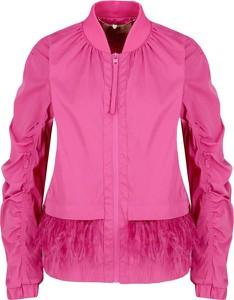 Różowa kurtka Twinset krótka