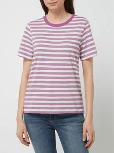 T-shirt Tom Tailor z okrągłym dekoltem z bawełny