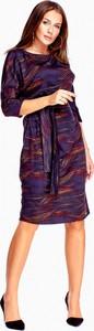 Sukienka Klaudia Styl w stylu casual z długim rękawem