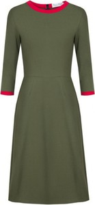 Sukienka Kasia Miciak design z długim rękawem z tkaniny