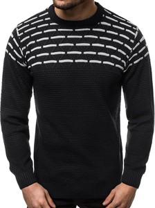 Czarny sweter Ozonee z wełny