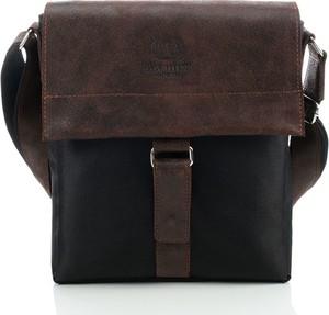 Brązowa torebka Paolo Peruzzi duża w stylu retro