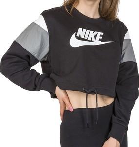 Bluza Nike z dzianiny krótka w sportowym stylu