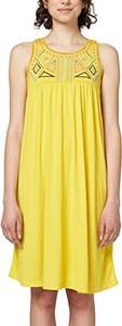 Żółta sukienka amazon.de