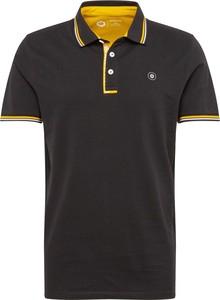 Granatowa koszulka polo Jack & Jones z krótkim rękawem