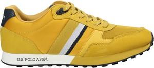 Żółte buty sportowe U.S. Polo