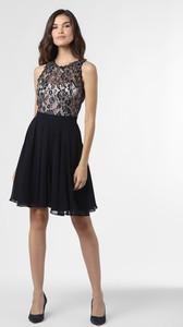 Sukienka VM bez rękawów mini z szyfonu