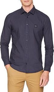 Granatowa koszula BOSS Casual