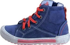 Buty dziecięce zimowe EMEL z nubuku