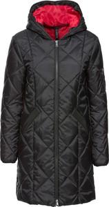Czarny płaszcz bonprix rainbow bez wzorów