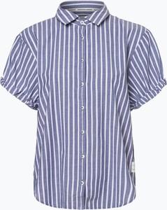 Niebieska bluzka Marc O'Polo DENIM z krótkim rękawem