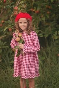 Różowa sukienka dziewczęca Miss Melody z bawełny