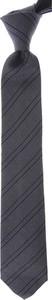 Granatowy krawat Giorgio Armani