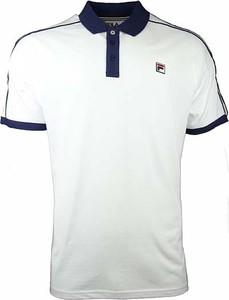 Koszulka polo Fila z krótkim rękawem w stylu casual