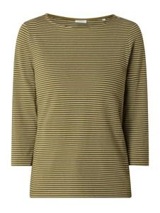 Bluzka Marc O'Polo DENIM z okrągłym dekoltem z bawełny w stylu casual