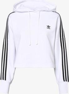 Białe bluzy damskie Adidas, kolekcja wiosna 2020