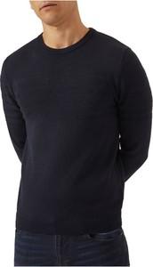 Czarny sweter Emporio Armani w stylu casual z dżerseju
