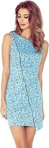 Niebieska sukienka MORIMIA w stylu casual asymetryczna