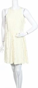 Sukienka Lauren Conrad mini z okrągłym dekoltem rozkloszowana