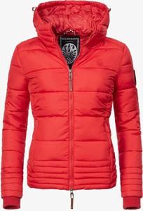 Czerwona kurtka Marikoo w stylu casual