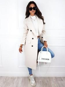 Płaszcz Infinityfashion.pl w stylu casual