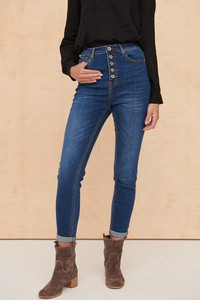 Granatowe jeansy Blue Shadow