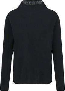 Czarny sweter Twinset z kaszmiru w stylu casual