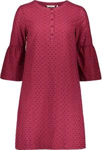 Sukienka Tom Tailor oversize mini z okrągłym dekoltem