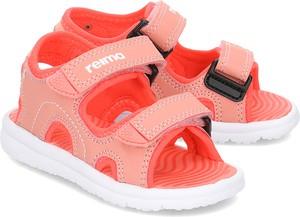 Czerwone buty dziecięce letnie Reima na rzepy