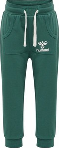 Zielone spodnie dziecięce Hummel
